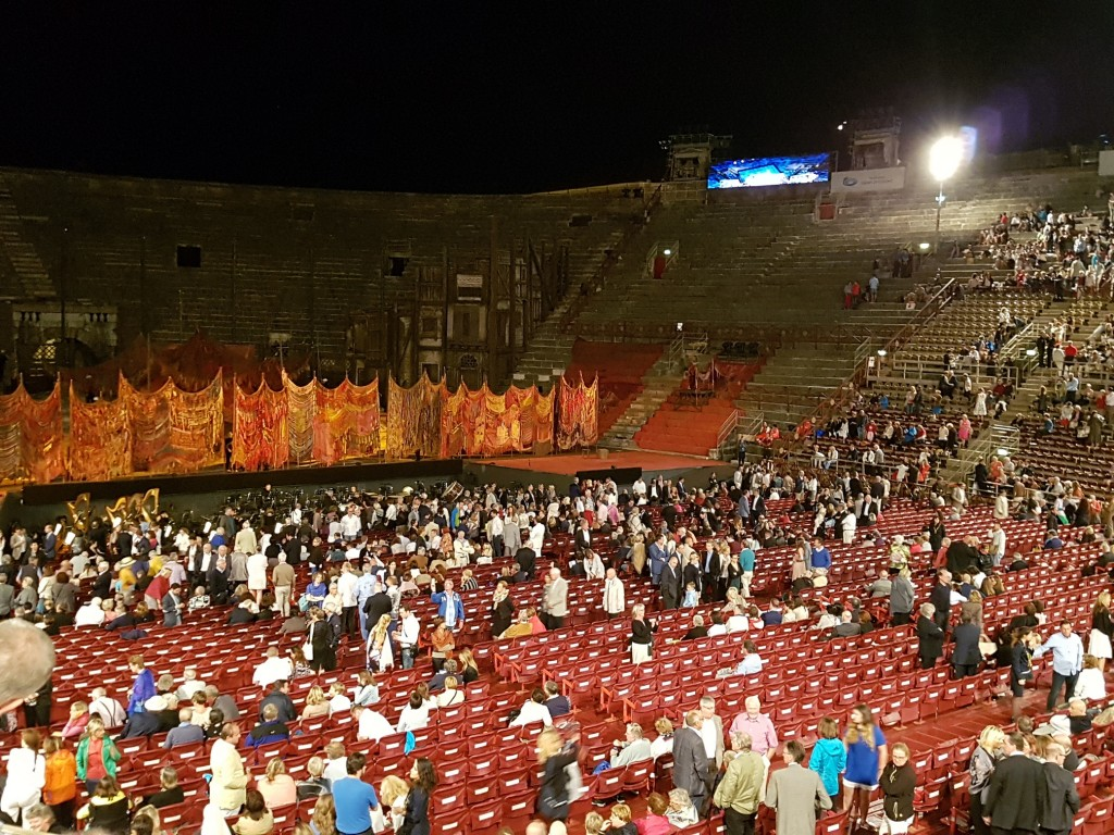 Арена ди Верона отвътре Снимка: Дани